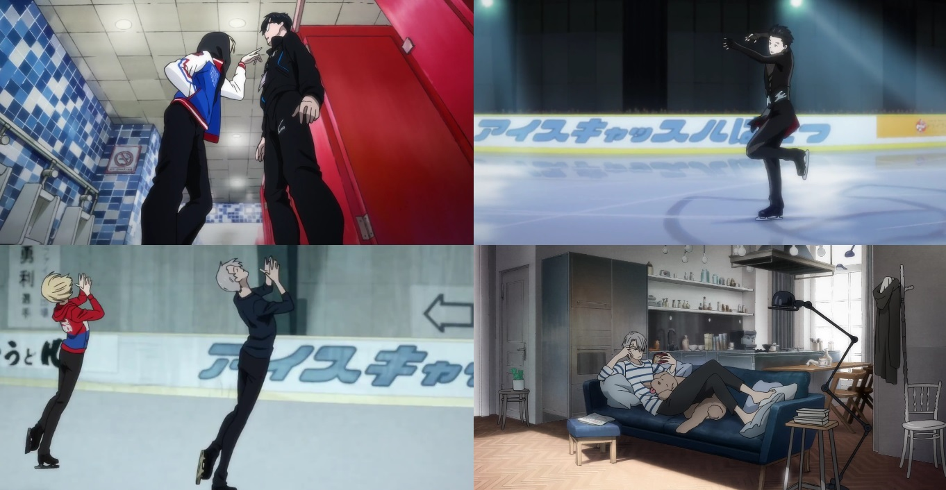 Yuri!!! on Ice - Eps. 1-3