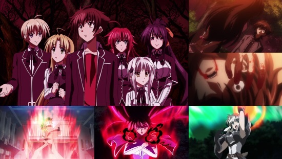High School DxD - Complete Series Collection