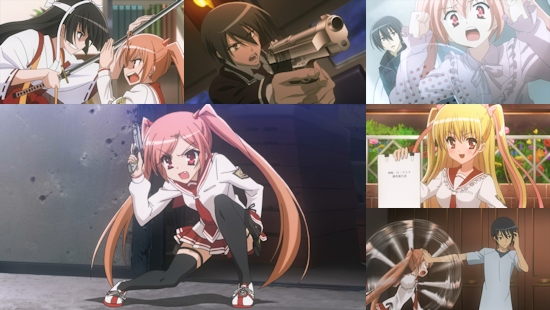 Aria: The Scarlet Ammo - Eps. 1-4