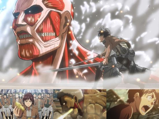 Attack on Titan - Eps. 1-4