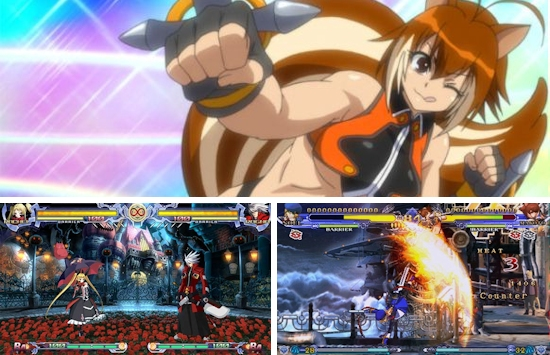 Blazblue Continuum Shift II (PSP / 3DS)