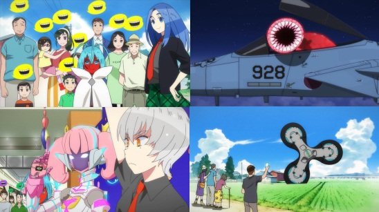 Gatchaman Crowds Insight - Eps. 0-3