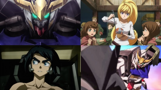 Mobile Suit Gundam: Iron-Blooded Orphans-  Eps. 1-3