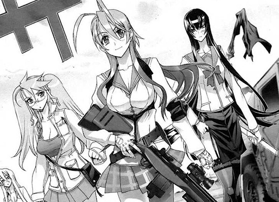 Highschool of the Dead Vol. 3