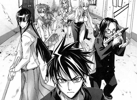Highschool of the Dead Vol. 1