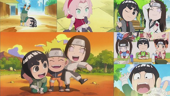 Naruto Spin-Off: Rock Lee and His Ninja Pals - Eps. 1-3