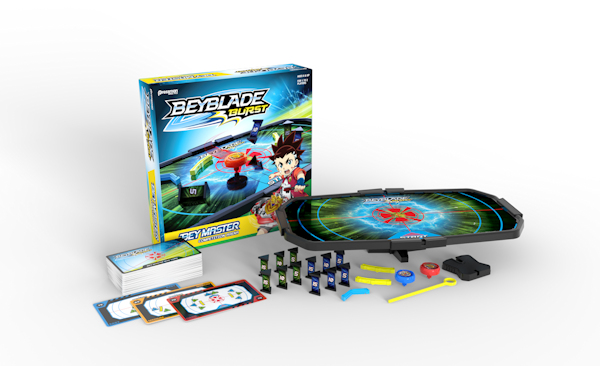 Beyblade Burst Beymaster Board Game out now