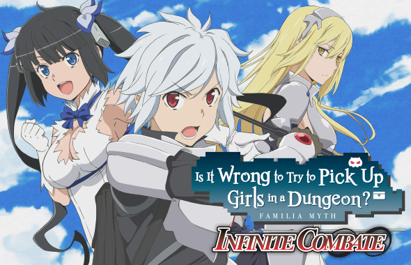 Is it Wrong to Pick Up Girls in a Dungeon - Infinite Combate RPG coming West in 2020