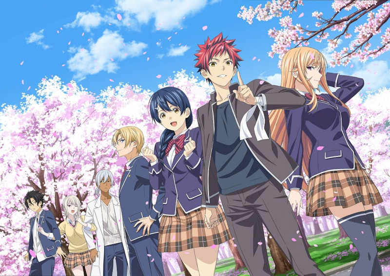 Food Wars! Shokugeki no Sama available on Netflix