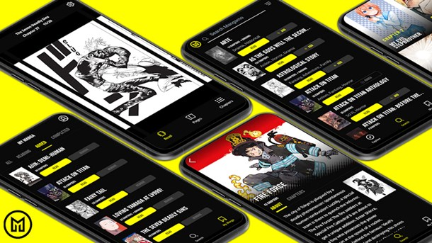 UK Android app now available for manga service Mangamo