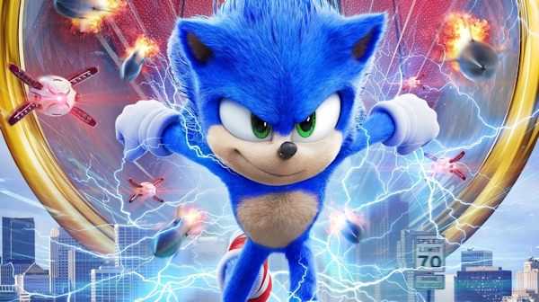Sonic the Hedgehog gets a redesign for the new movie