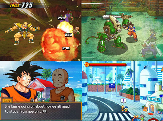 Dragon Ball Z: Attack of the Sayians (DS)
