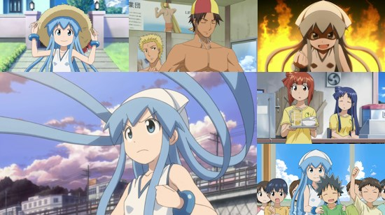 Squid Girl Season 2 - Eps. 1-3