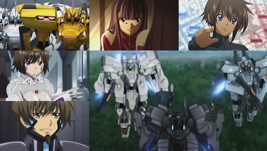 Muv-Luv Alternative: Total Eclipse - Eps. 1-4