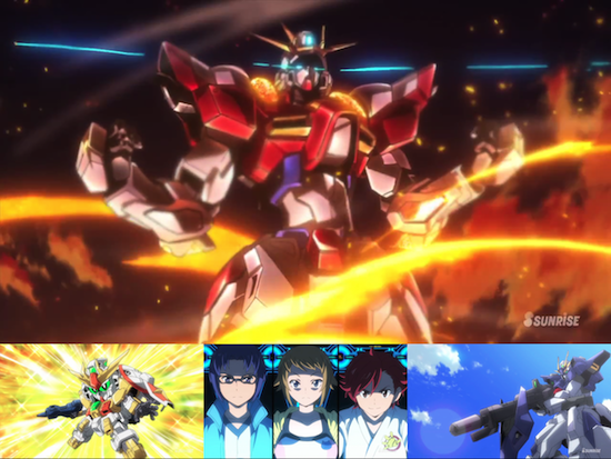 Gundam Build Fighters Try - Eps. 1-5