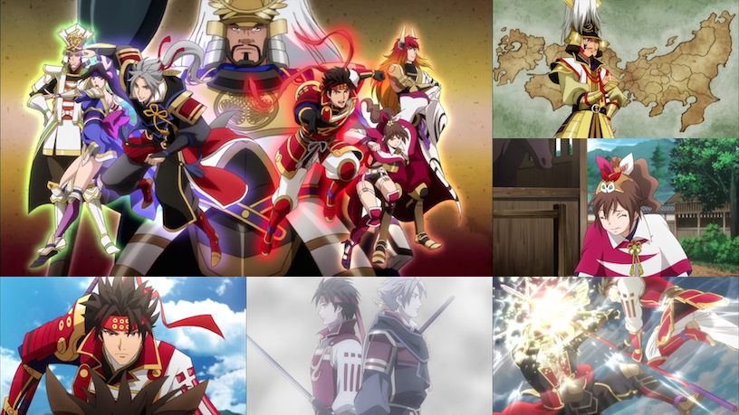 Samurai Warriors - Eps. 1-3