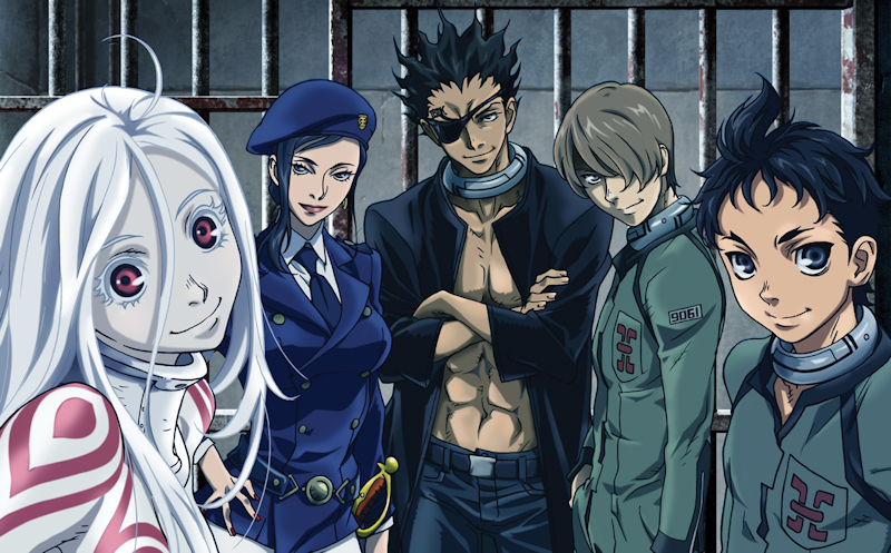 Deadman Wonderland - Eps. 1-4
