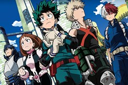 My Hero Academia - Second Highest in Demand