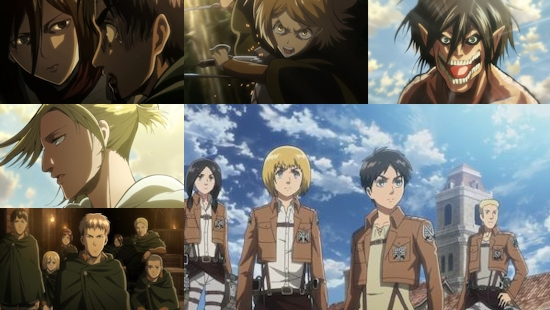 Attack on Titan - Eps. 5-25
