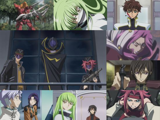 Code Geass: Lelouch of the Rebellion - Complete Season 1 (Blu-Ray)
