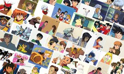 Online auction for anime cels on July 4th at 2pm
