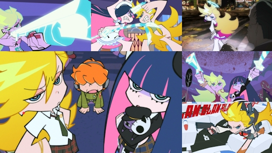 Panty & Stocking with Garterbelt (Blu-Ray/DVD Combo)