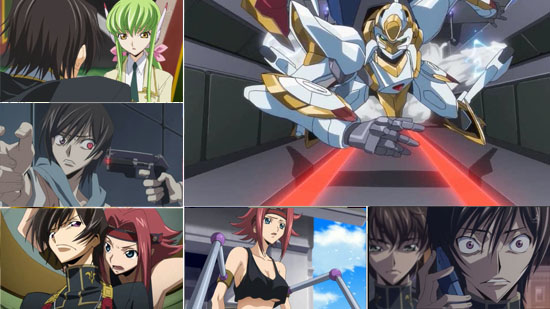 Code Geass: Lelouch of the Rebellion R2 Box 1