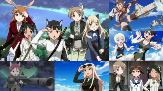 Strike Witches 2 Eps. 4-12