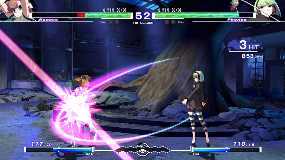 UNDER NIGHT IN-BIRTH Exe:Late cl-r (PS4)